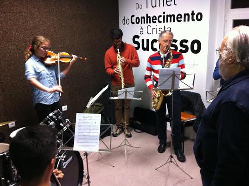 Meia de música de jazz