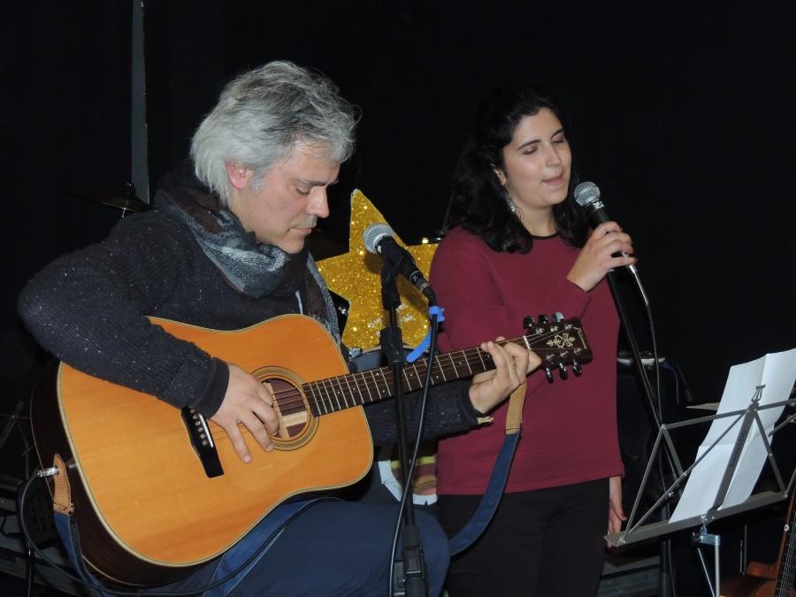 Meia de Musica de Guitarra e Voz
