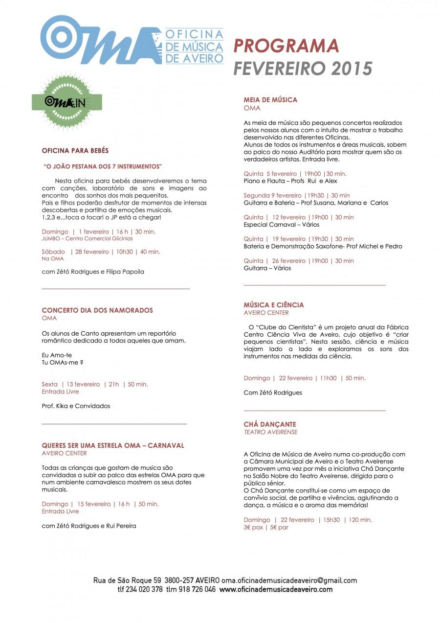 Agenda Fevereiro
