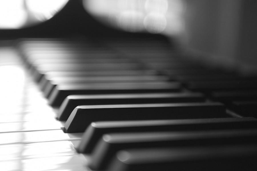 Meia de Música de Piano-Dia do Jazz