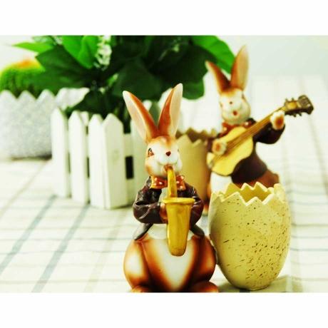 rabbit-playing