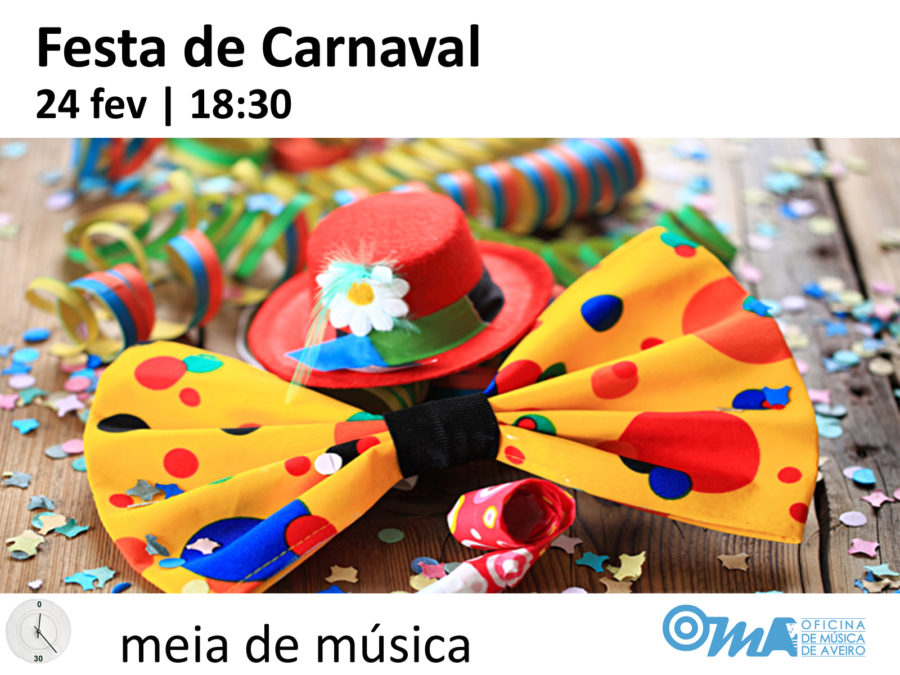 Festa de Carnaval na OMA