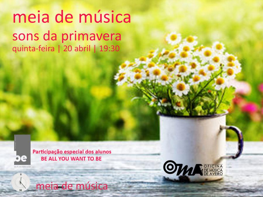 Meia de Música-Sons da Primavera