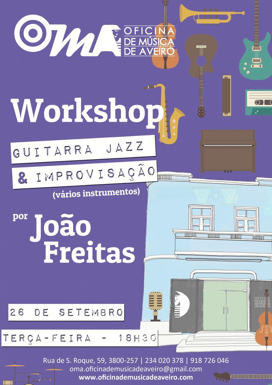 Clube de Jazz OMA propõe WORKSHOP DE IMPROVISAÇÃO
